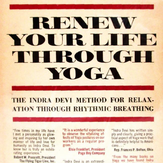 Renew Your Life Through Yoga