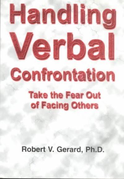 Handling Verbal Confrontation