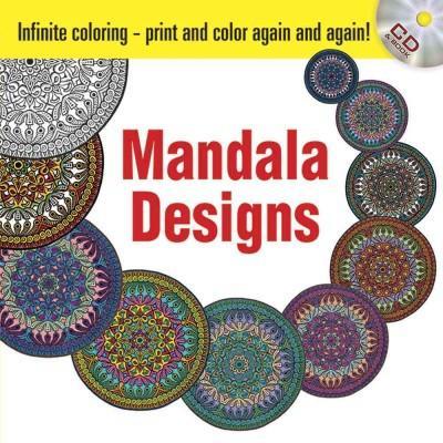Infinite Coloring Mandala Designs Coloring Book