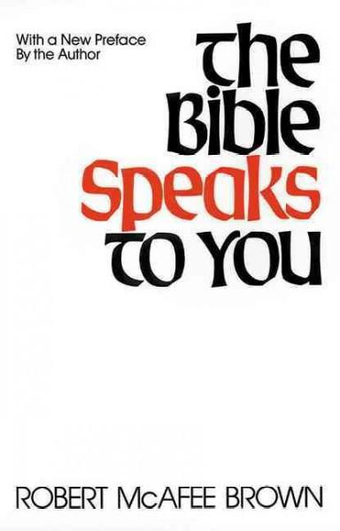Bible Speaks to You