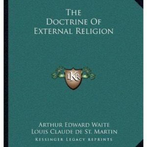 Doctrine of External Religion