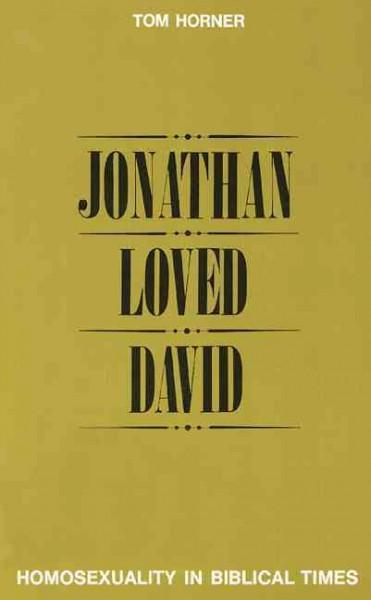 Jonathan Loved David