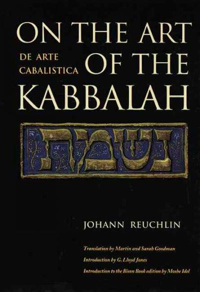 On the Art of the Kabbalah/De Arte Cabalistica