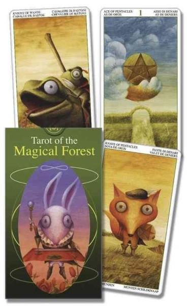 Tarot of the Magical Forest/Tarot del Bosque Magico