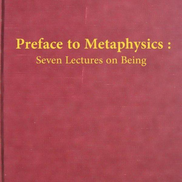 Preface to Metaphysics