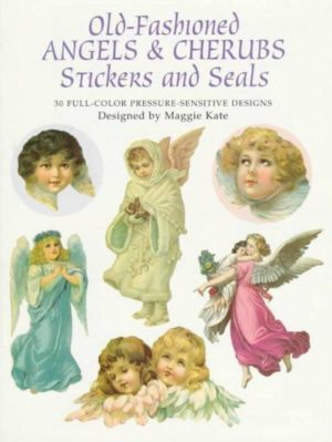 Old-Fashioned Angels & Cherubs Stickers and Seals