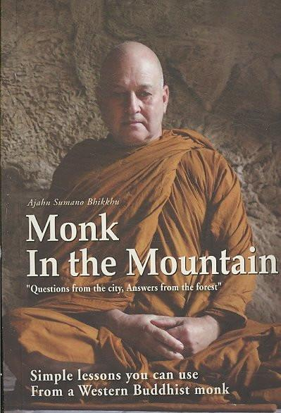 Monk in the Mountain