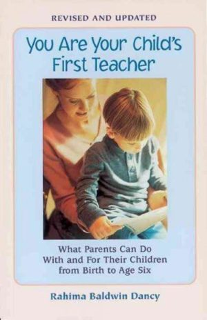 You Are Your Child's 1st Teacher