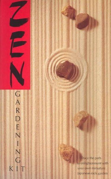 Zen Gardening Kit/Book and Japanese Rock Garden