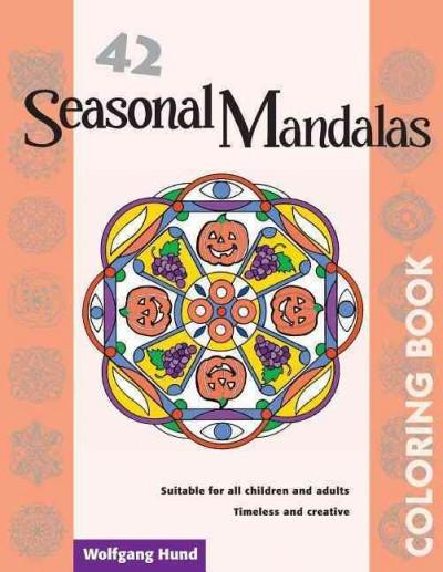 42 Seasonal Mandalas Coloring Book
