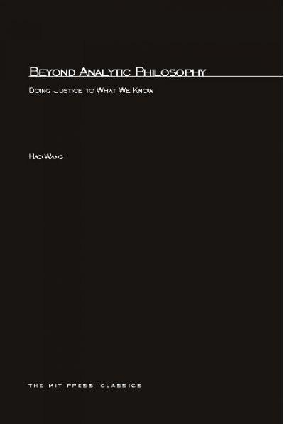 Beyond Analytical Philosophy