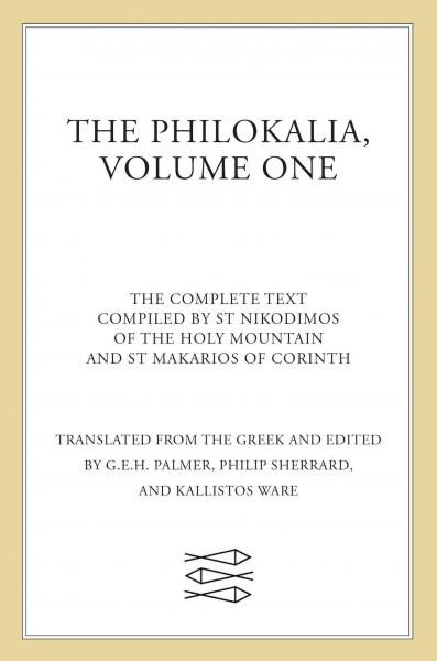 Philokalia : The Complete Text