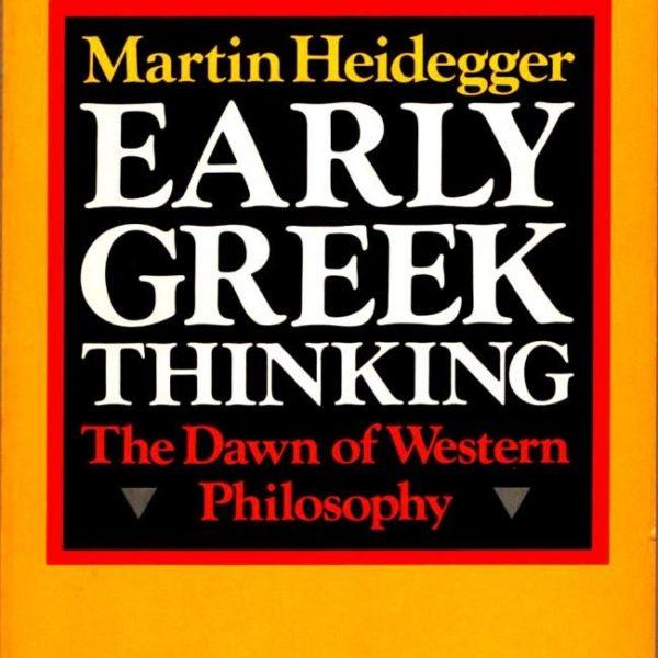 Early Greek Thinking