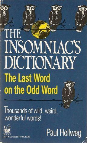 Insomniac's Dictionary