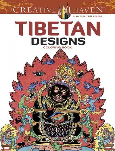 Tibetan Designs Adult Coloring Book
