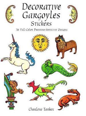 Decorative Gargoyles Stickers