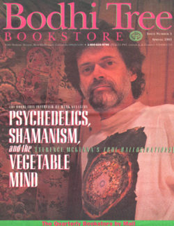 Terence McKenna on cover of Bodhi Tree Newsletter