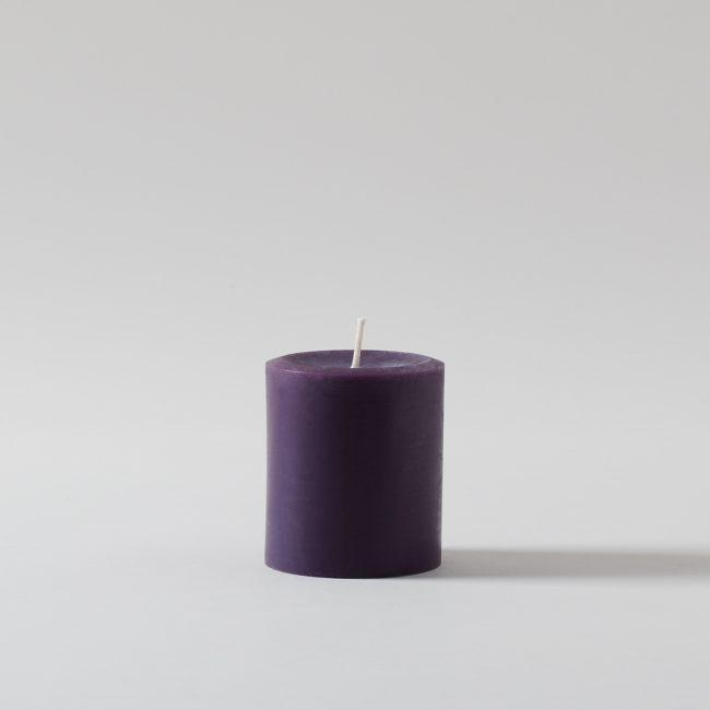 Pure Beeswax Short Pillar Candle