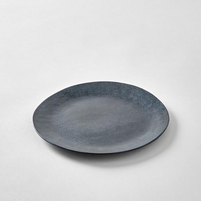 Patricia Vieljeux Grey Stoneware Plate
