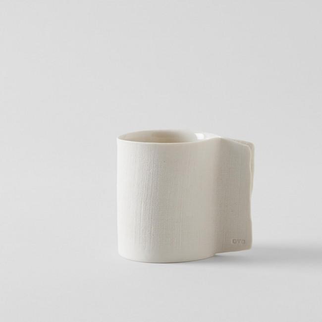 OVO Ceramics Handmade Porcelain Mug