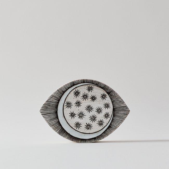 MQuan Ceramic Eye with Crescent & Stars