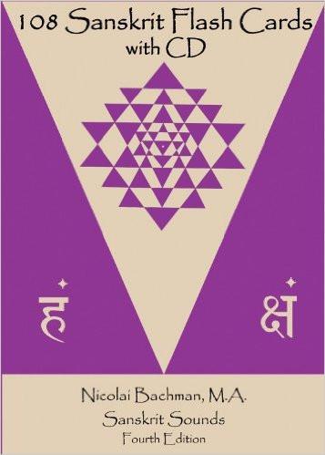 108 Sanskrit Flash Cards With Cd