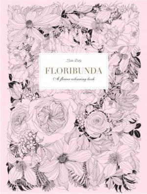 Floribunda a Flower Coloring Book