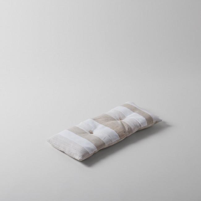 Nur Gallery Natural Multi Stripe Pillow