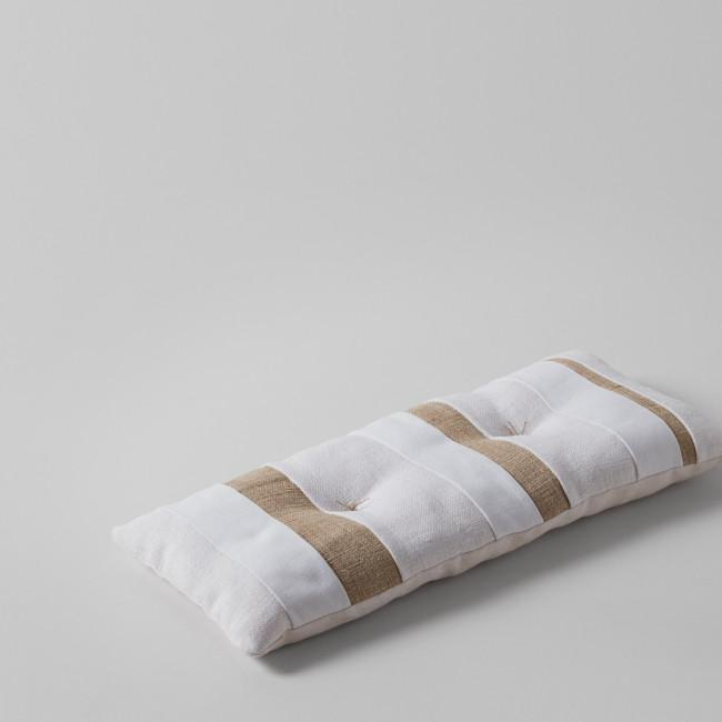 Nur Gallery Natural Varied Stripe Pillow