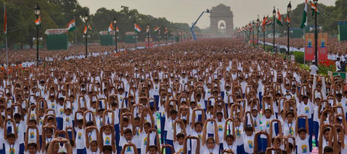 Celebrating the International Day of Yoga