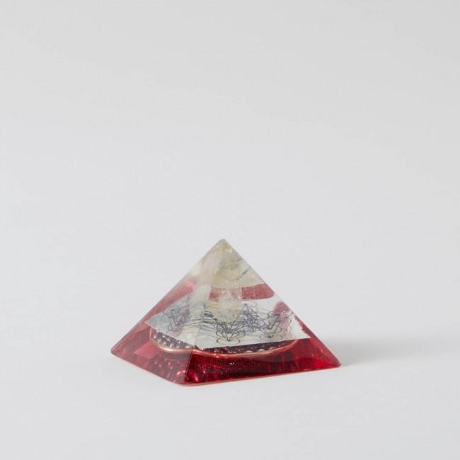 Arkansas Metatrons Cube Red Orgone Pyramid