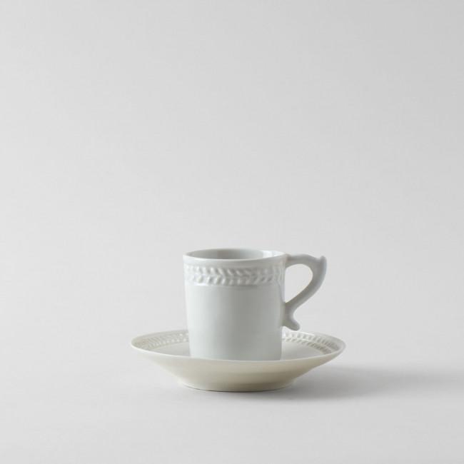 Alix D. Reynis Empire Coffee Mug & Saucer