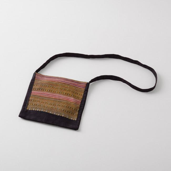 Red Dao Traditional Vietnamese Embroidered Bag