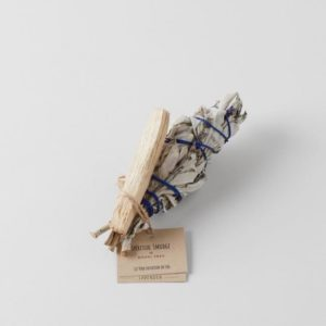 Spiritual Smudge White Sage with Lavender and Palo Santo