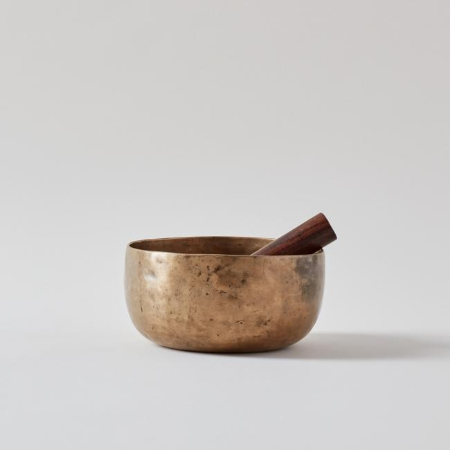 18th-19th Century Antique Thadobati Singing Bowl
