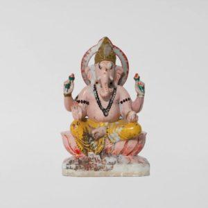 Extra Large 19th Century Antique Marble Ganesha Statue