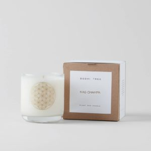 Bodhi Tree Nag Champa Scented Candle