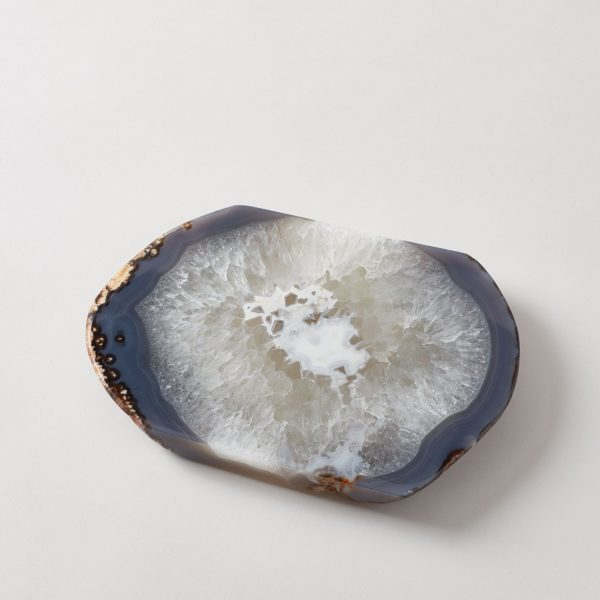 Cortado Platter in Natural Agate