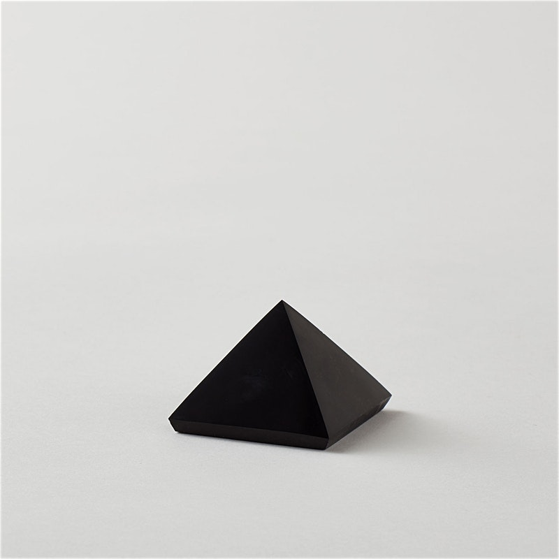 Shungite Pyramid for Purification and Protection