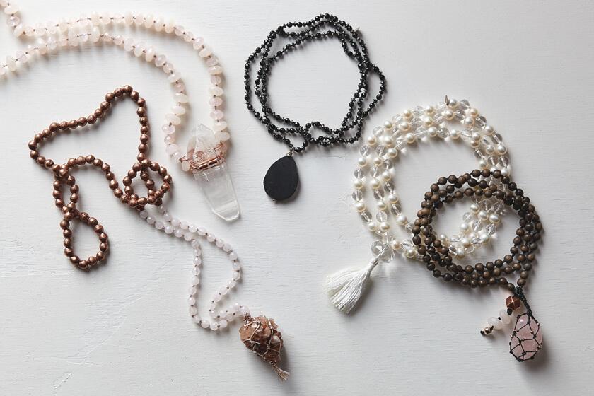 Mala Rosaries + Beads