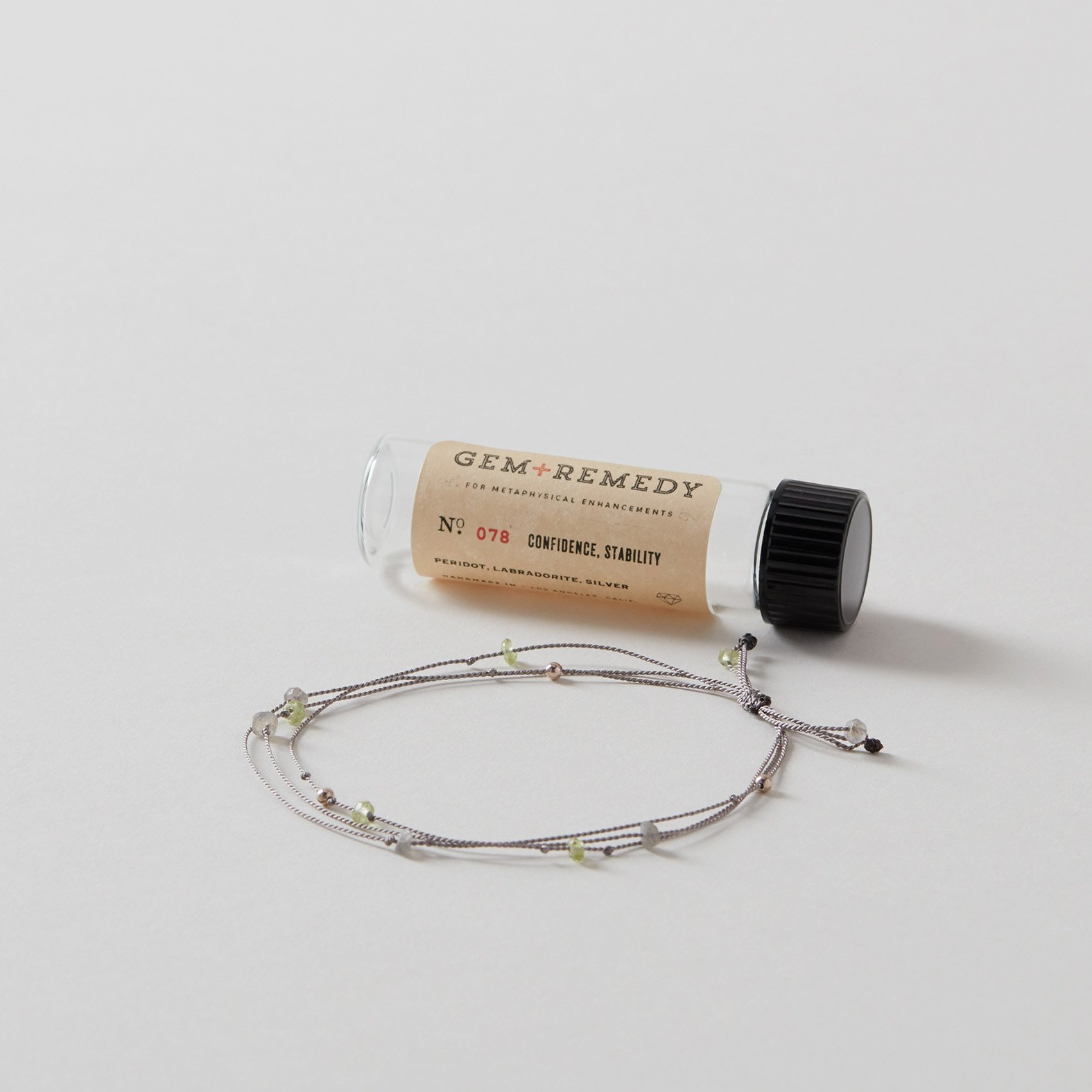 Gem Remedy Confidence + Stability Bracelet