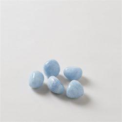 5 blue calcites