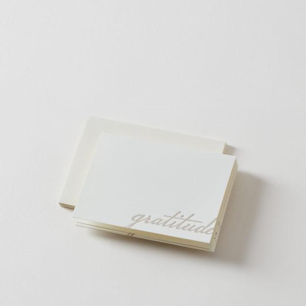 Gratitude Handmade Folded Card