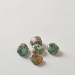 Ruby Fuchsite Tumbled Stone