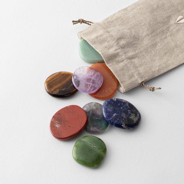 Chakra Stone Kit Crystal Bundle for Energy Alignment