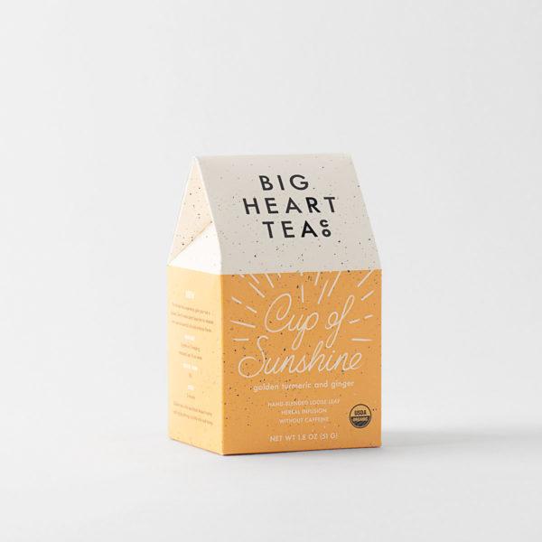 Cup of Sunshine Turmeric Ginger Loose Tea